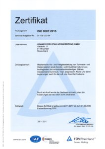 Drehtechnik - Bearbeitung von Stählen und Sonderwerkstoffen - Kramer Edelstahlverarbeitung GmbH aus Lindlar | NRW
