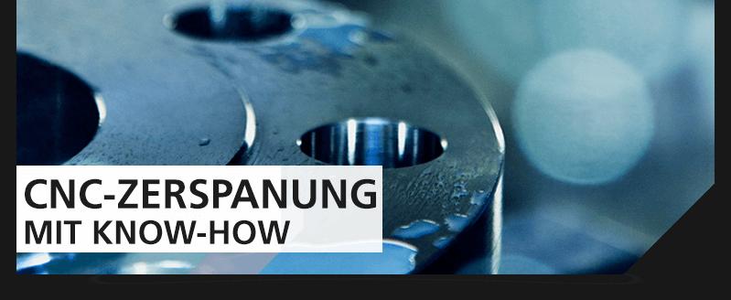 CNC-Zerspanung mit know-how