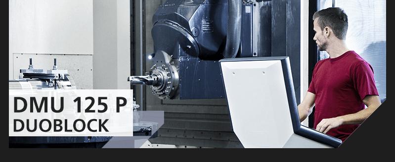 DMU125P  DuoBlock - Maschinenpark für die CNC Bearbeitung von Stahl und Sonderwerkstoffen - Kramer Edelstahlverarbeitung GmbH | Lindlar